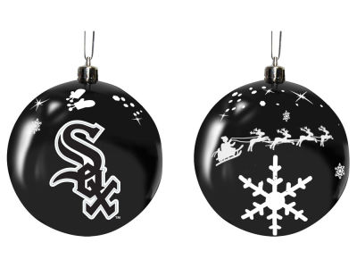 "Chicago White Sox Memory Company 3"" Sled Glass Ball Ornament"