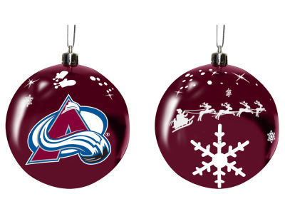 "Colorado Avalanche Memory Company 3"" Sled Glass Ball Ornament"