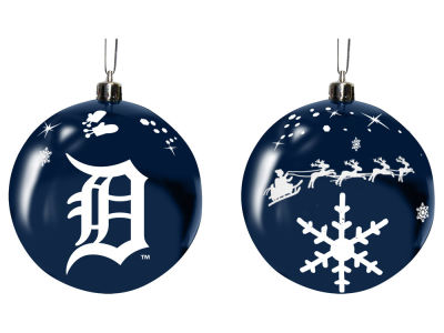 "Detroit Tigers Memory Company 3"" Sled Glass Ball Ornament"