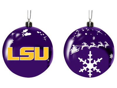 "LSU Tigers Memory Company 3"" Sled Glass Ball Ornament"
