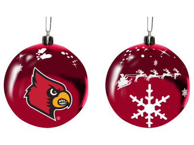 "Louisville Cardinals Memory Company 3"" Sled Glass Ball Ornament"