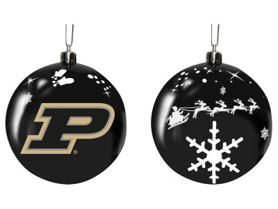 "Purdue Boilermakers Memory Company 3"" Sled Glass Ball Ornament"