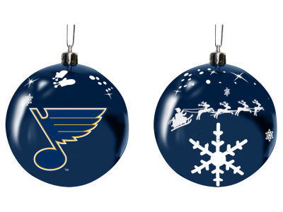 "St. Louis Blues Memory Company 3"" Sled Glass Ball Ornament"