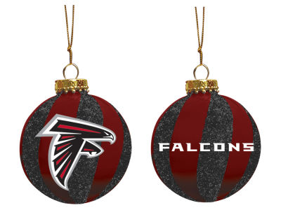 "Atlanta Falcons Memory Company 3"" Sparkle Glass Ball Ornament"