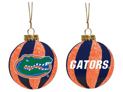 "Florida Gators Memory Company 3"" Sparkle Glass Ball Ornament"