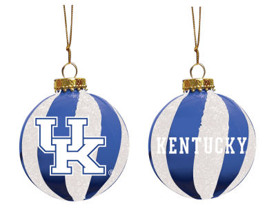 "Kentucky Wildcats Memory Company 3"" Sparkle Glass Ball Ornament"