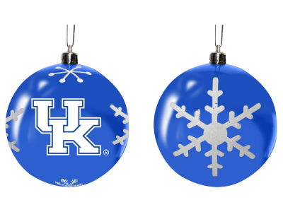"Kentucky Wildcats Memory Company 3"" Snowflake Plastic Ball Ornament"