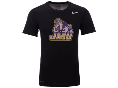 James Madison Dukes Nike NCAA Men's Dri-Fit Legend 2.0 Logo T-Shirt
