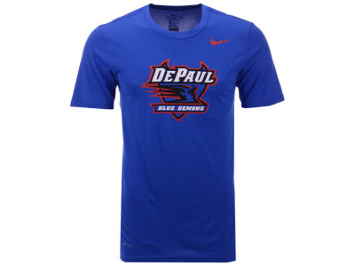 DePaul Blue Demons Nike NCAA Men's Dri-Fit Legend 2.0 Logo T-Shirt