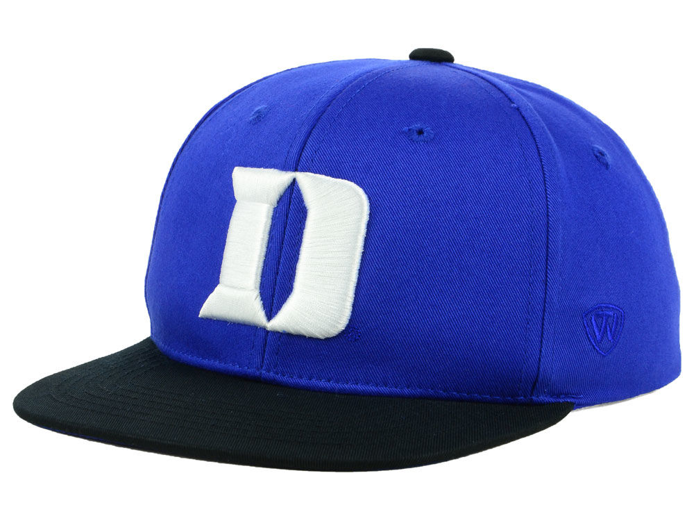 Duke Blue Devils Top of the World NCAA Youth Maverick Snapback Cap ... 4ff9782af2f9