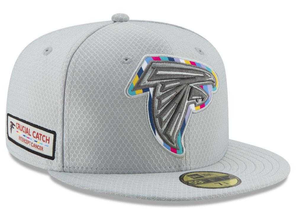 Atlanta Falcons New Era 2018 NFL Crucial Catch 59FIFTY Cap  d4bdb141c361