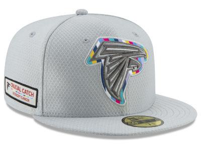 4646283e5ce Atlanta Falcons New Era 2018 NFL Crucial Catch 59FIFTY Cap