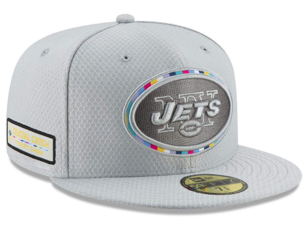 New York Jets New Era 2018 NFL Crucial Catch 59FIFTY Cap  95b242072