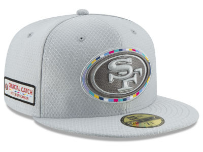 San Francisco 49ers New Era 2018 NFL Crucial Catch 59FIFTY Cap 7900b5873