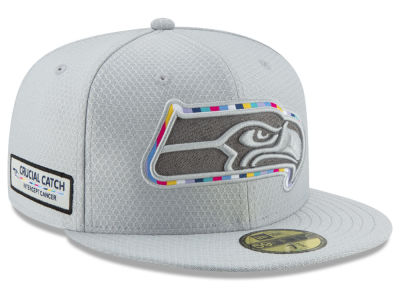 Seattle Seahawks New Era 2018 NFL Crucial Catch 59FIFTY Cap