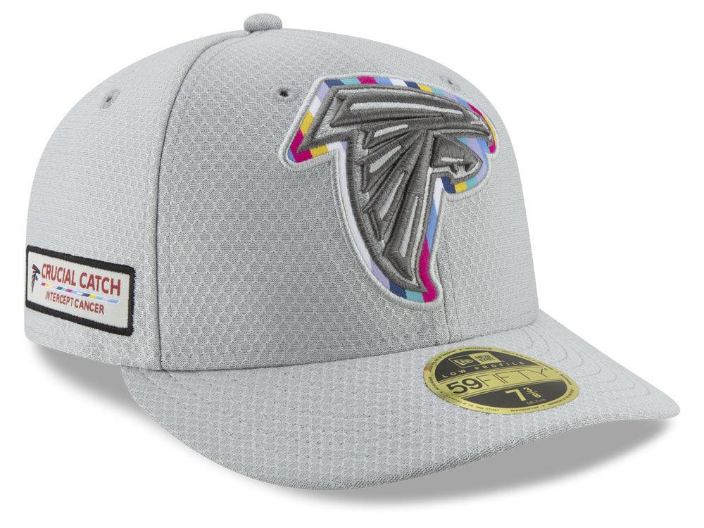Atlanta Falcons New Era 2018 NFL Crucial Catch Low Profile 59FIFTY Cap  4d5055433d8d