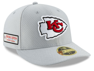 Kansas City Chiefs New Era 2018 NFL Crucial Catch Low Profile 59FIFTY Cap