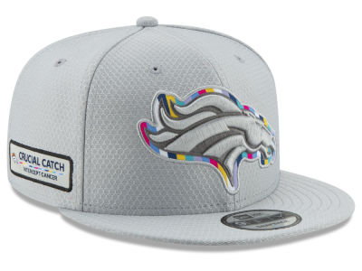 Denver Broncos New Era 2018 NFL Crucial Catch 9FIFTY Snapback Cap