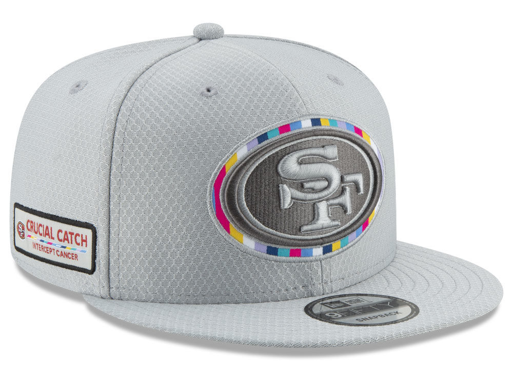 San Francisco 49ers New Era 2018 NFL Crucial Catch 9FIFTY Snapback Cap  b99259c0a