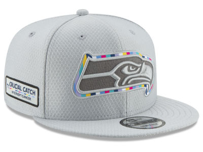 Seattle Seahawks New Era 2018 NFL Crucial Catch 9FIFTY Snapback Cap