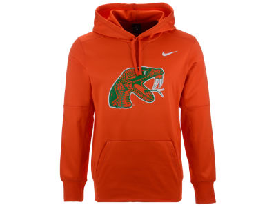 Florida A&M Rattlers Nike NCAA Men's Therma Logo Hoodie