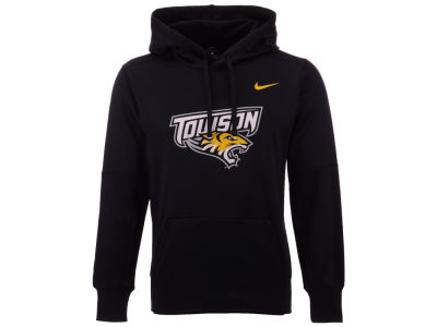 Towson University Tigers Nike NCAA Men's Therma Logo Hoodie