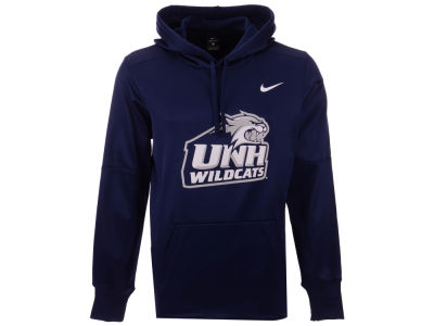 New Hampshire Wildcats Nike NCAA Men's Therma Logo Hoodie