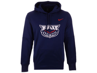 Florida Atlantic Owls Nike NCAA Men's Therma Logo Hoodie