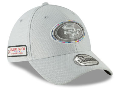 San Francisco 49ers New Era 2018 NFL Crucial Catch 39THIRTY Cap