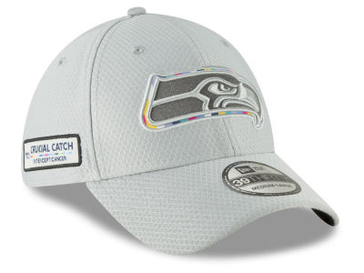 Seattle Seahawks New Era 2018 NFL Crucial Catch 39THIRTY Cap