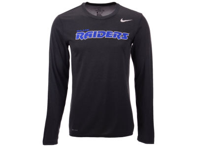 Middle Tennessee State Blue Raiders Nike NCAA Men's Dri-Fit Legend Wordmark Long Sleeve T-shirt