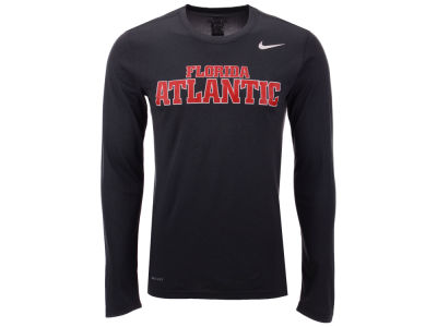 Florida Atlantic Owls Nike NCAA Men's Dri-Fit Legend Wordmark Long Sleeve T-shirt