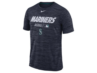 Seattle Mariners Nike MLB Men's Velocity Team Issue T-shirt