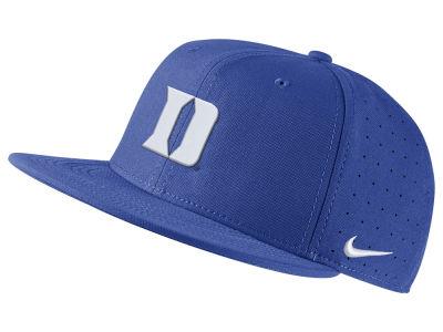0c04672c798 Duke Blue Devils Nike NCAA Aerobill True Fitted Baseball Cap