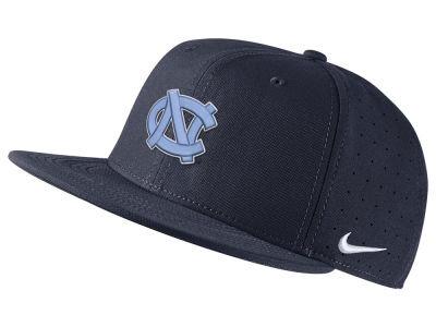 North Carolina Tar Heels Nike NCAA Aerobill True Fitted Baseball Cap eb47ce62e07