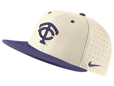 eb08d4d3b25 Texas Christian Horned Frogs Nike NCAA Aerobill True Fitted Baseball Cap