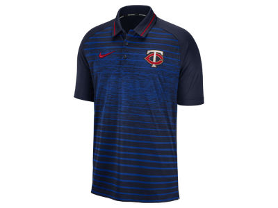 Minnesota Twins Nike MLB Men's Stripe Game Polo