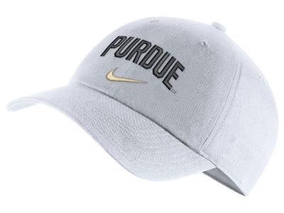 Purdue Boilermakers Nike NCAA H86 Wordmark Swoosh Cap 6ea82e9d3de2