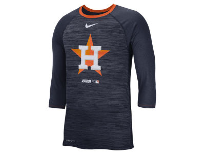 Houston Astros Nike MLB Men's Velocity Raglan T-Shirt