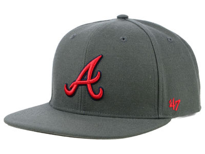 Atlanta Braves '47 MLB Autumn Snapback Cap