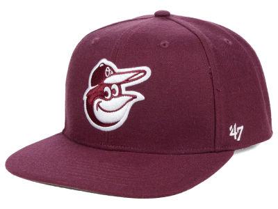 Baltimore Orioles  47 MLB Autumn Snapback Cap 8e81e1da973