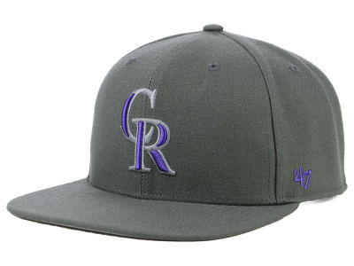Colorado Rockies '47 MLB Autumn Snapback Cap