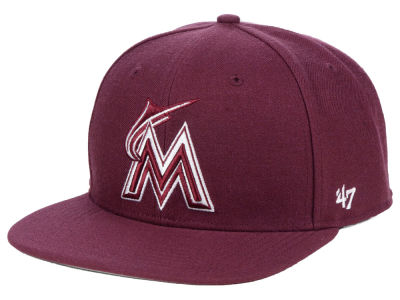 Miami Marlins '47 MLB Autumn Snapback Cap