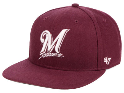 Milwaukee Brewers '47 MLB Autumn Snapback Cap