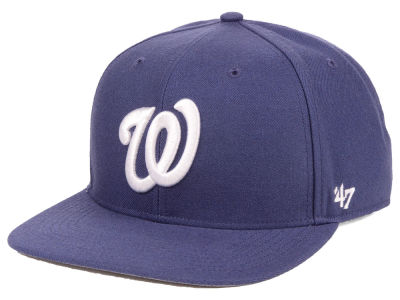 Washington Nationals '47 MLB Autumn Snapback Cap