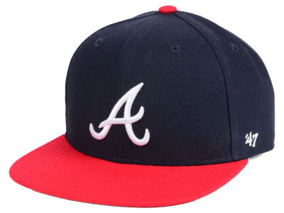 Atlanta Braves '47 MLB Youth Basic Snapback Cap