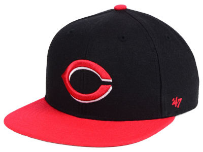 Cincinnati Reds '47 MLB Youth Basic Snapback Cap