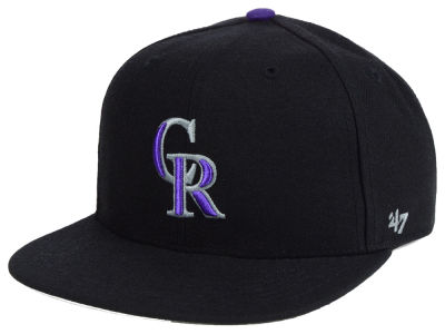Colorado Rockies '47 MLB Youth Basic Snapback Cap