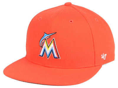 Miami Marlins '47 MLB Youth Basic Snapback Cap