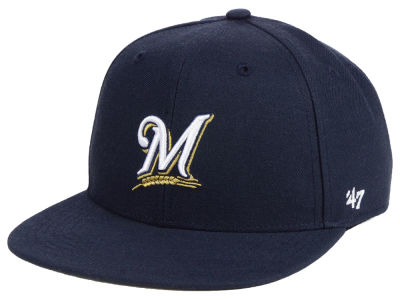 Milwaukee Brewers '47 MLB Youth Basic Snapback Cap